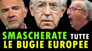"""SMASCHERATE TUTTE LE BUGIE EUROPEE (primo di tre video sulla """"Matrix Europea"""")"""