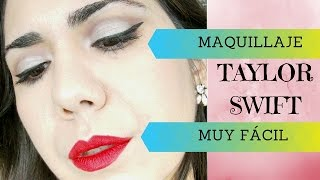 Taylor Swift Inspiración - Wildest Dreams Tutorial Maquillaje - English Subs