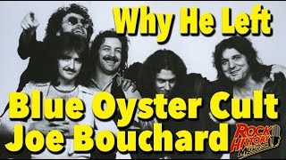 Why Joe Bouchard Left Blue Oyster Cult & His Fav Producers YouTube Videos