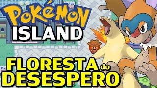Pokémon Island (Fã Game) - Floresta Amaldiçoada e Rank 5!