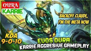 Evos Oura Karrie Aggresive Gameplay [ Evos Oura Karrie ] Oura Karrie Mobile Legends