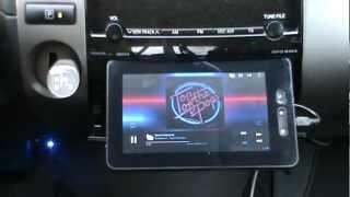 Андроид планшет как CarPC в Toyota Prius II.mp4(CarPc на планшете Ployer momo9. Крепеж без доработки панели. Это принципиально. Пилить панель не хочу. Работает нави..., 2012-11-04T08:41:03.000Z)
