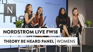 Gambar cover Theory | Be Heard Panel | Nordstrom Live Fall 2018