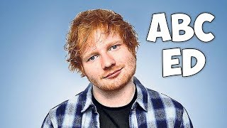 Learn the Alphabet with Ed Sheeran - Ed Sheeran alphabet