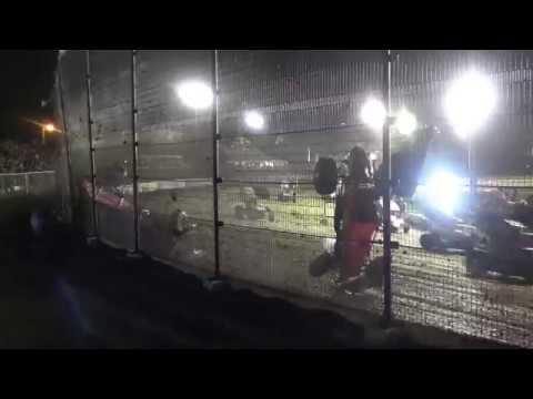 World of Outlaws Big Crash at Volusia