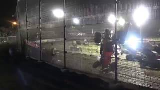 Big World of Outlaws crash at Volusia. Wow!