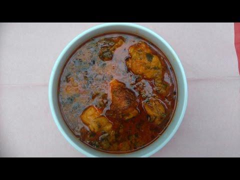 How To Cook Ofe Akwu/Banga Stew With Fresh Palm Fruit