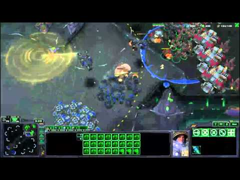 Starcraft 2 lotv; Jugando vs ia con truco, terran platino