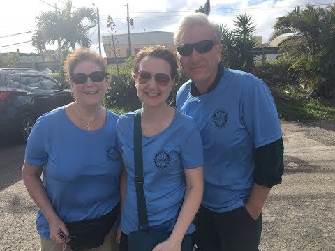 District 7910's Hurricane-Relief Mission to Moca, Puerto Rico- February 2-5, 2018