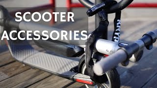 5 Best Accessories for Electric Scooters