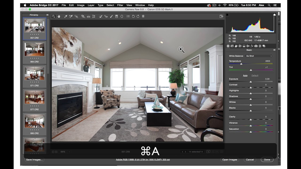 Photographer Tutorial 17: How to master the basics of Camera Raw for Real Estate