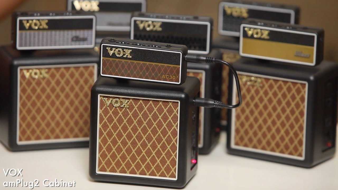 VOX / amPlug2 Cabinet【デジマート製品レビュー】