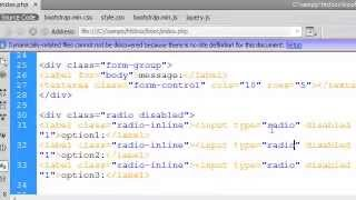 دورة bootstrap:الدرس السادس:التعامل مع input-textarea-checkbox-select