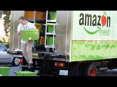 Amazon revoluciona España con la entrega de alimentos en 1 hora