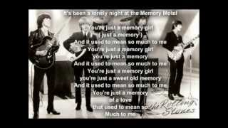 The Rolling Stones - Memory Motel  (with lyrics)