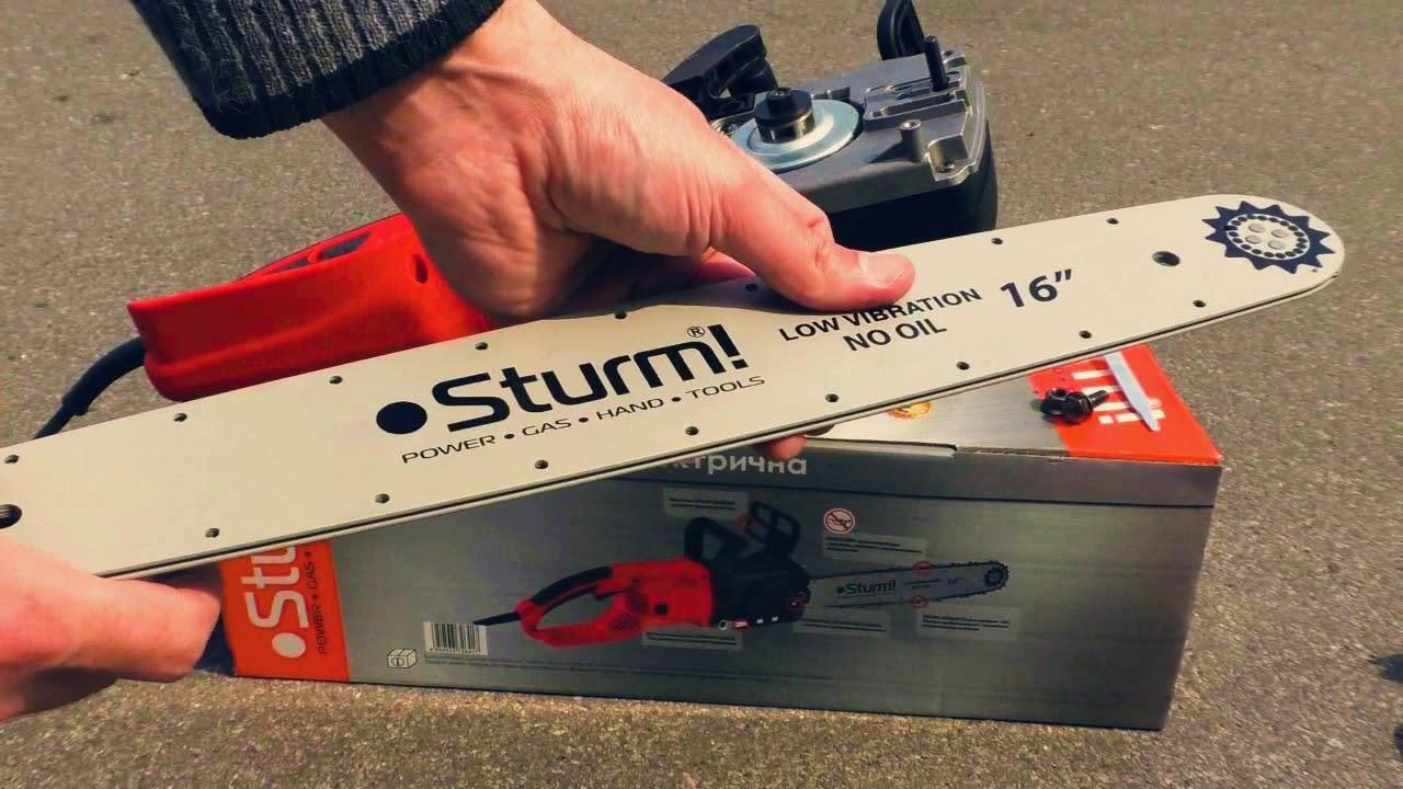БЕЗ МАСЛА! Безмасляная электропила Sturm CC9923OL - обзор, тест,  что внутри?