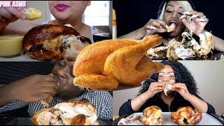 Try Not To Gag Mukbang Challenge // Rotisserie Chicken