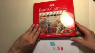 Обзор цветных карандашей