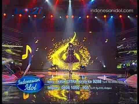 Citra - Sedari Dulu [ Dua Sisi , Spektakuler 9 ] Indonesian Idol 2010 / 09-07