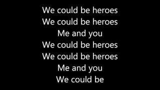 Repeat youtube video Alesso (We could be) - Heroes | Lyrics