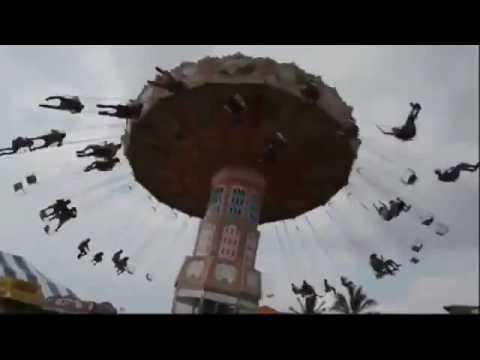 Lunapark amusement park accident