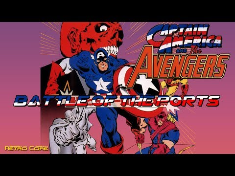 Battle of the Ports - Captain America and the Avengers (キャプテンアメリカとアベンジャーズ) Show #180 - 60fps