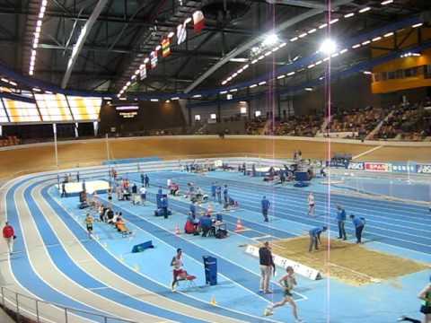 NK Indoor 2009 brons Jeroen Reintjes