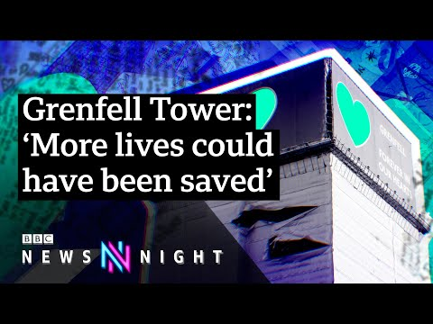 Grenfell Tower Survivor: 'The Hurt Is Always Going To Be There' - BBC Newsnight