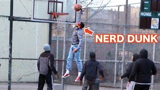 getlinkyoutube.com-Nerds Play Basketball In The Hood Like A Boss!