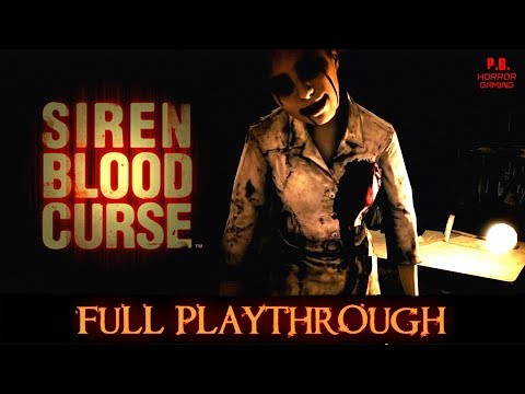 Siren Blood Curse | Full Playthrough | Longplay Gameplay Walkthrough No Commentary