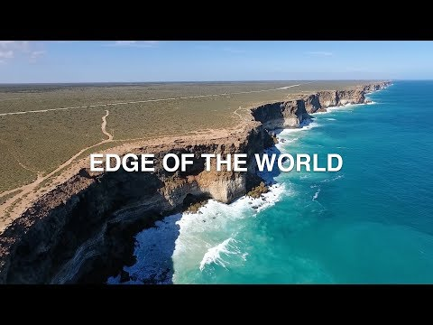 EDGE OF THE WORLD   GREAT AUSTRALIAN BIGHT
