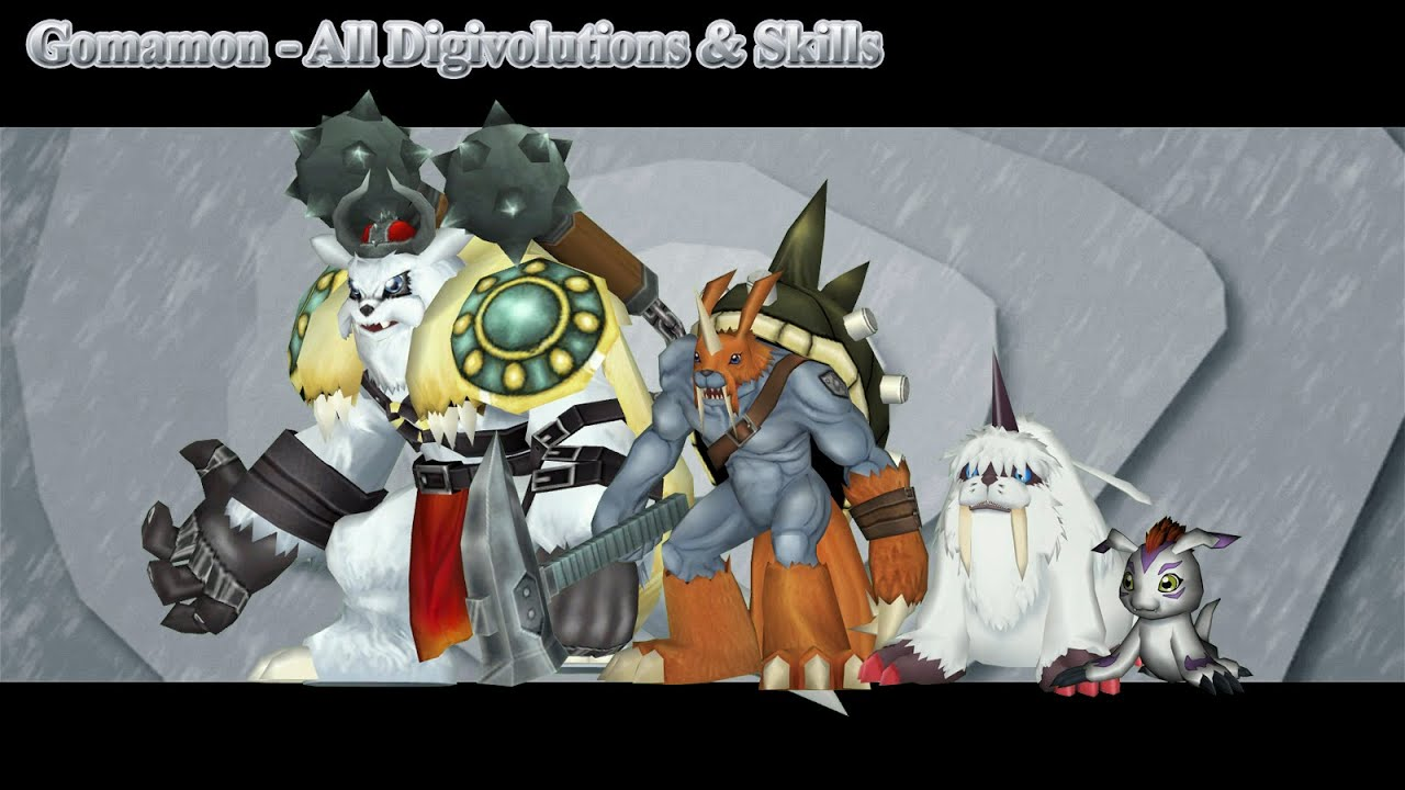 digimon gomamon evolution - photo #37