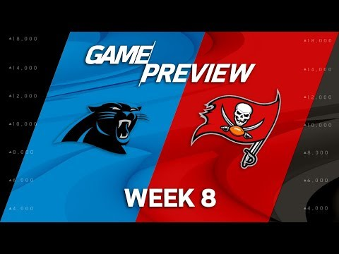 Carolina Panthers vs. Tampa Bay Buccaneers | Week 8 Game Preview | Move the Sticks