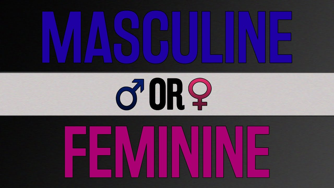 is my personality masculine or feminine