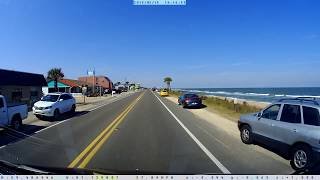 Driving Along Florida's A1A Scenic Coastal Byway