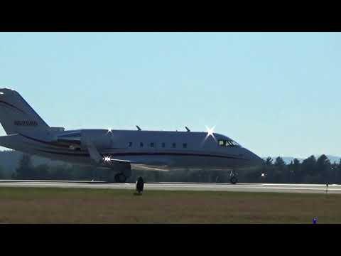 Private Jet, Beautiful Takeoff (MHT)
