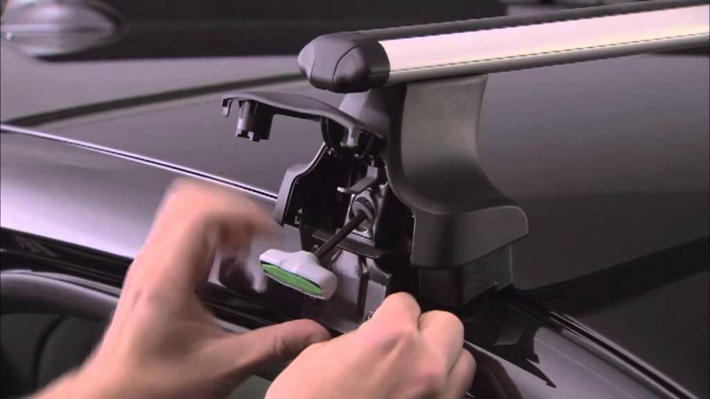 Auto Dynamic Ru багажник на крышу Thule 754 Youtube