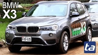BMW X3 2014: lanzamiento en Perú