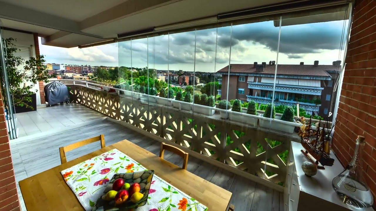 Vetrate Panoramiche per Balconi - YouTube