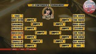 WWE 2K14 прохождения турнира Gold Rush Часть 1