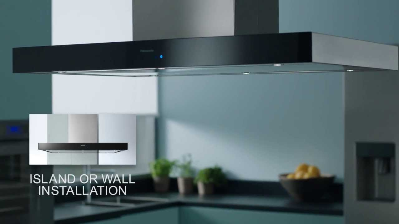 Panasonic Integrated Kitchen Design   Cooker Hood   The New Kitchen  Blueprint   YouTube Part 47