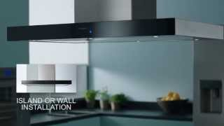 Panasonic Integrated Kitchen Design - Cooker Hood - The New Kitchen Blueprint