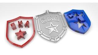 Уроки ArtCAM на русском. KeyShot Визуализация STL