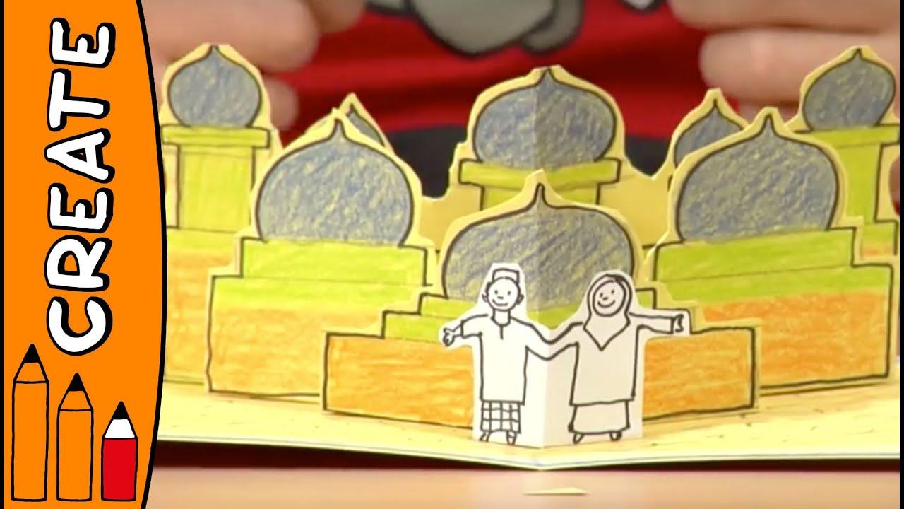 Craft Ideas For Kids - Flying Carpet Pop Up Card | World Of Art ...