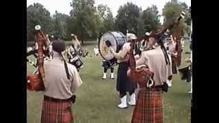 Minstrel Boy   Rowan Tree   Rochester Scottish Pipes & Drums at Genesee Country Village and Museum 2