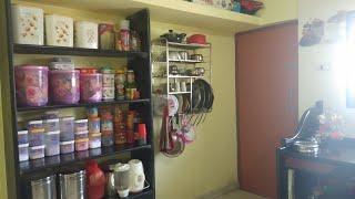 छोटे किचन को सजाने का तरीका /non moduar kitchen organisation idea/somegoodtips