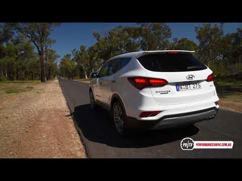 2018 Hyundai Santa Fe Diesel 0-100km/h & Engine Sound