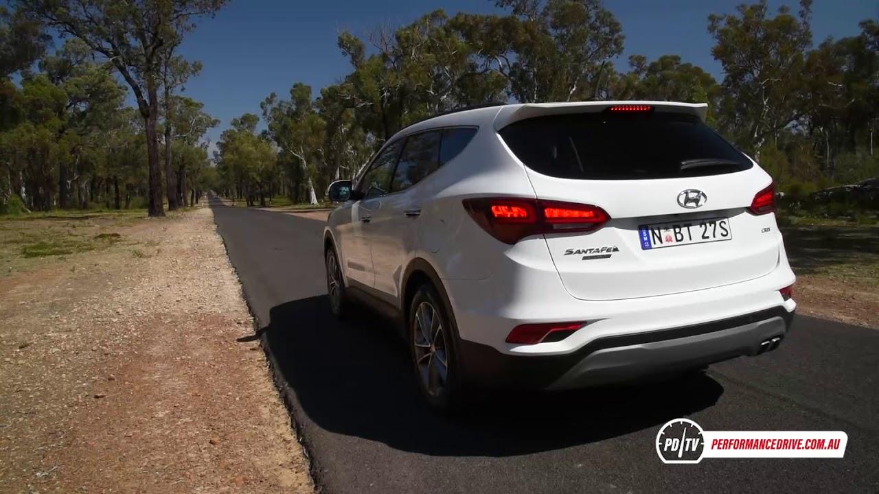 2018 Hyundai Santa Fe Diesel 0 100km H Engine Sound Youtube