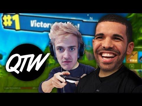 Drake & Ninja's Twitch Stream, Stephen Hawking Died, Logan Paul VS KSI || QTW || PODCAST