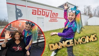 "TOUR OF THE ""DANCE MOMS"" SET! (ALDC Original Studio!) - JoJo Siwa"